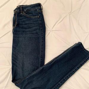 Dark Washed Hollister Jeans